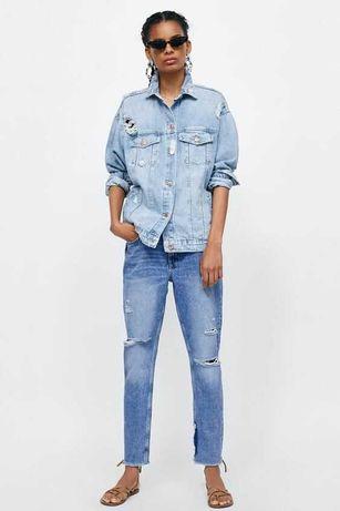Kurtka jeansowa Zara rozm. XS