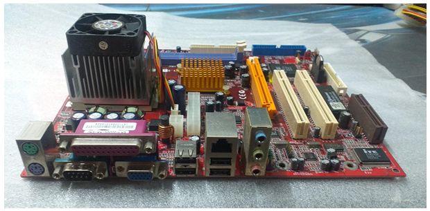 MotherBoard PCChips M863G V1.50 A