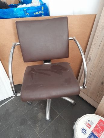 Fotel fryzjerski hoker