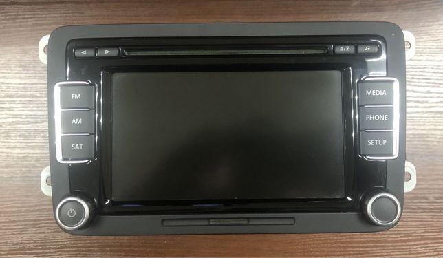 Штатная оригинальная магнитола RCD510