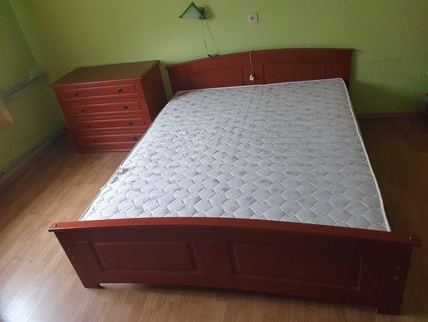 Łóżko sypialniane 160x 200 + komoda