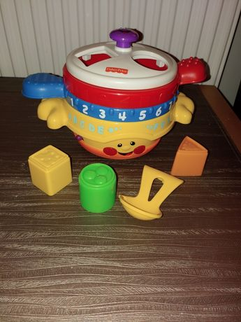 Sorter garnek, patelnia Fisher Price