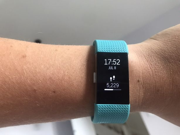 Zegarek smartwatch FitBit Charge 2 fitness tracker S