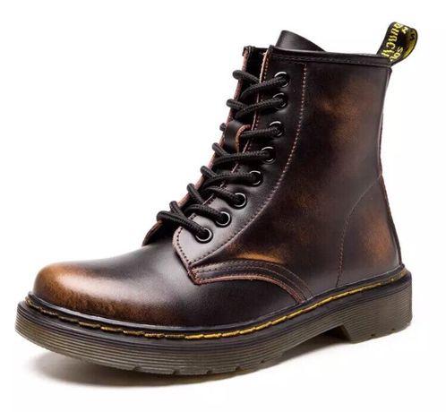 Buty skórzane ocieplane rozm 37