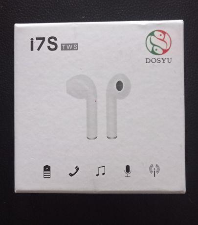 Słuchawki Bezprzewodowe AIR BT i7s Z Powerbankiem douszne