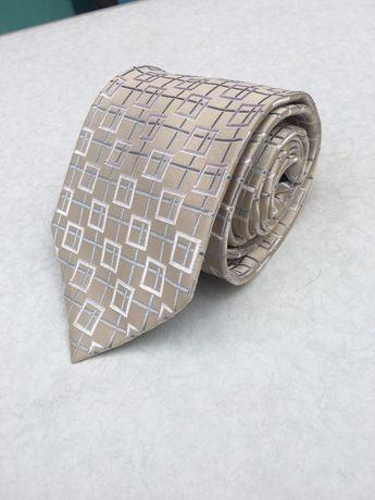 Брендова краватка Pierre Cardin шовкова галстук шолк шовк фірмова