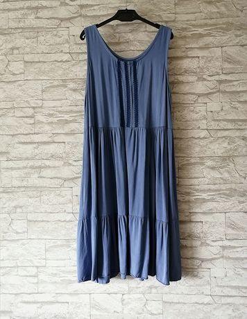 Luźna sukienka oversize uniwersalna