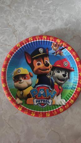 Тарелки щенячий патруль