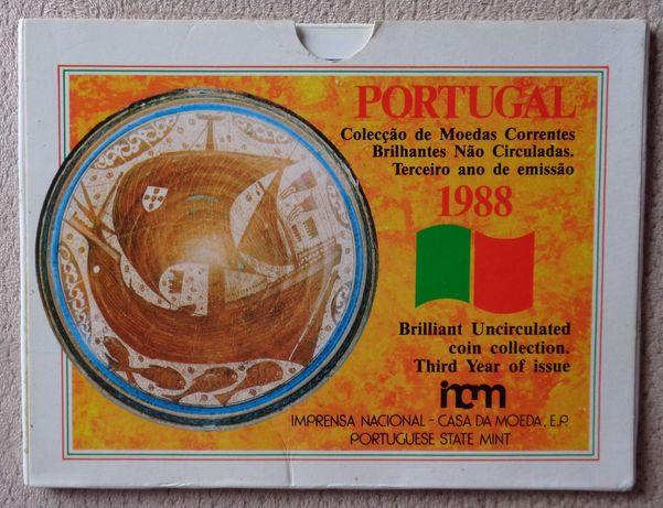 Carteira moedas BNC 1988
