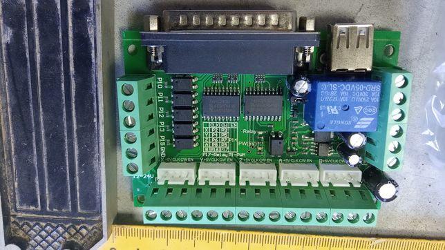 MACH3 CNC 5-ти осевая плата управления ЧПУ-станком с опторазвязкой