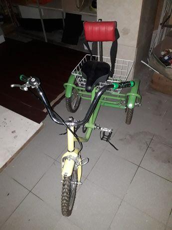Велосипед  трехколесный детский от 6 лет