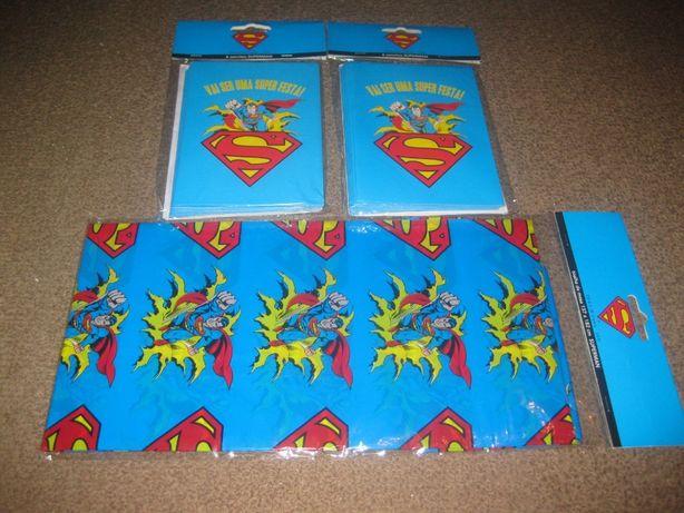 """Pack Aniversário """"Super Homem"""" Novo e Embalado!"""