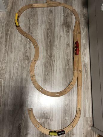 Kolejka drewniana IKEA 25 sztuk OFERTA na DZIEŃ DZIECKA