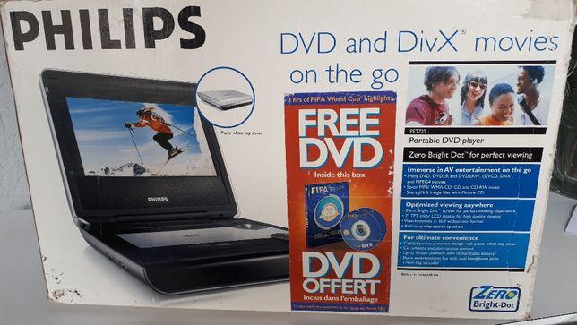 Leitor de dvd portatil Philips
