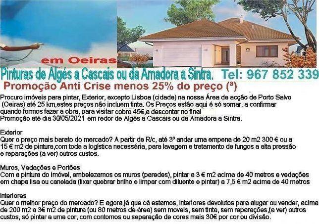Procuro imóveis para pintar, Exterior, exceto Lisboa (cidade)
