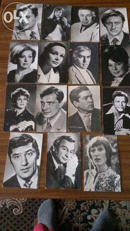 Черно-белые фотографии актеров