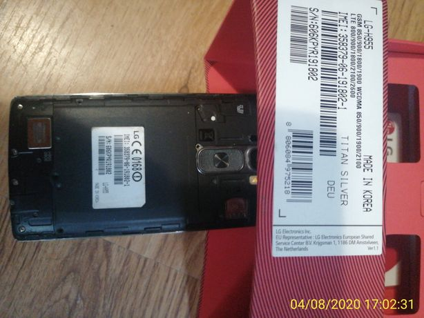 Oryginalny wyświetlacz LCD LG flex2