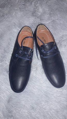 Туфли мужские темно синие