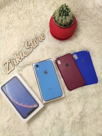 iPhone Xr blue 64gb Neverlock оригинал