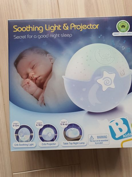 Projektor lampka uspokajacz 3w1 smart sensor B-KIDS