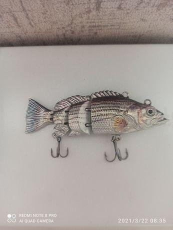 Електрическая рыбка для рыбалки