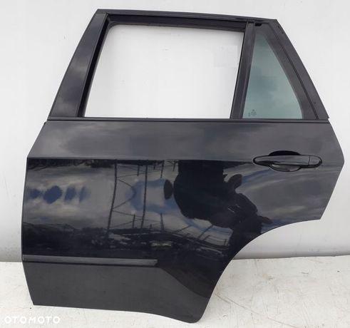 BMW X5 E70 DRZWI LEWE TYLNE BLACK SAPPHIRE 08R