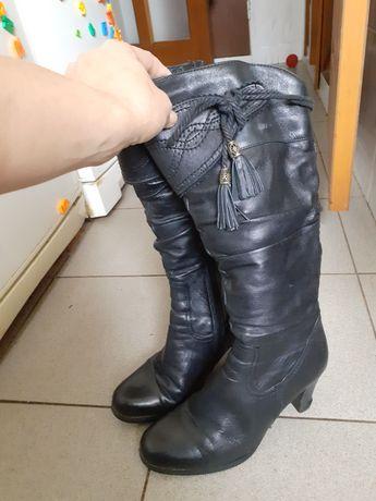 Сапоги женские кожаные 38 размер