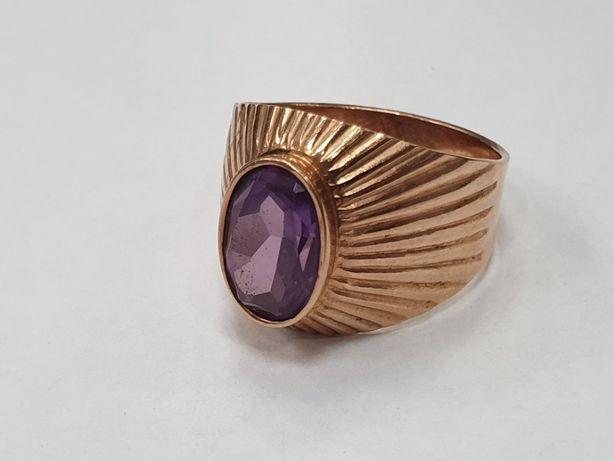 Piękny złoty pierścionek damski/ Radzieckie 583/ 7.2 gram/ R21/ sklep