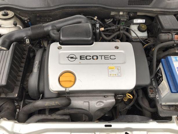 Opel Astra G zafira vectra silnik kompletny 1.6 16V 100 tys przebiegu
