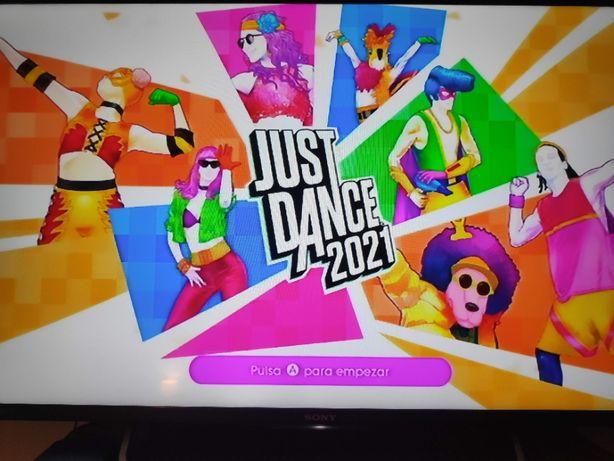 Wii Nintendo opção jogos Just Dance 2021 Mário Kart