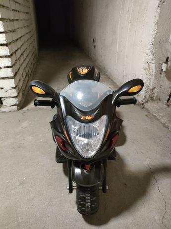 Motorek na akumulator dla dziecka