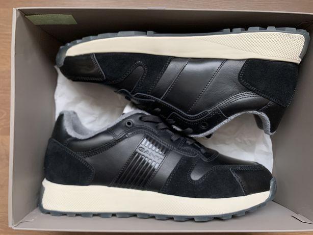 Кожаные мужские кроссовки GANT, размер 44 EUR