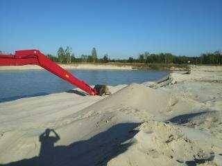 Sprzedam piasek 0 2 pukany do murowania  25ton z transportem do 50km