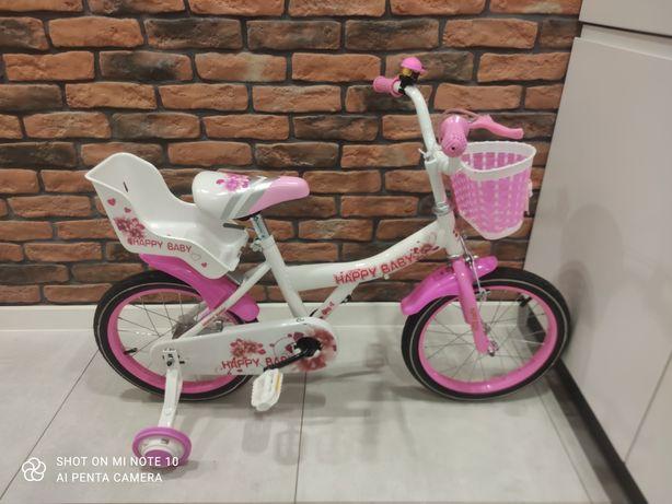 """Rower Dziecięcy 12"""", 16"""" ''Happy Baby""""+GRATIS:prowadnik"""