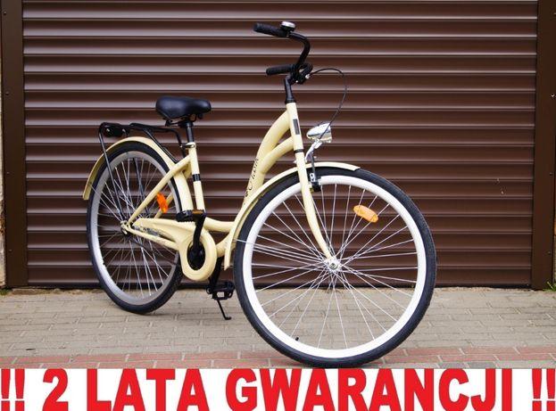 NOWY STYLOWY, modny Rower 28' dla kobiety - Cappuccino. Retro Style !!