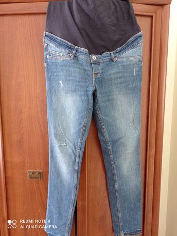 Jeansy ciążowe skiny h&m rozm 44