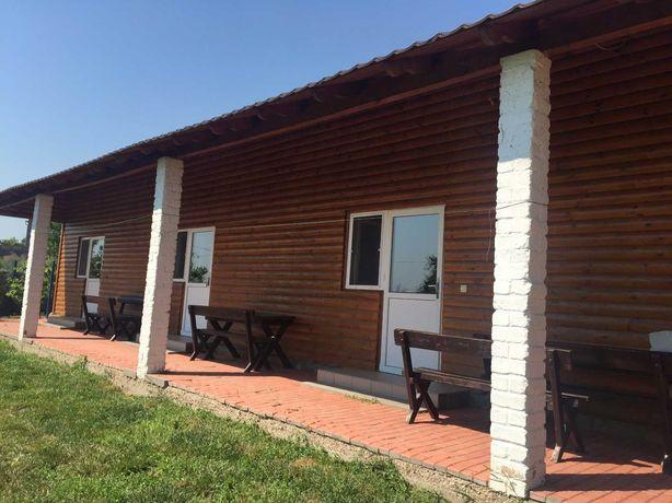 Два дома для отдыха на берегу лимана, Роксоланы