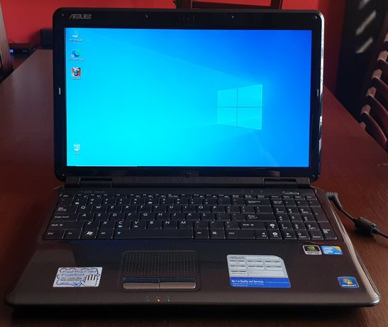 Laptop Asus, Intel 2.20GHz, 4gb ram, 500gb hdd, 15,6 cala