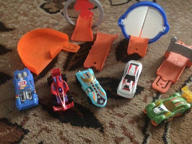 Машинки Хот Вилс Hot wheels с трассой