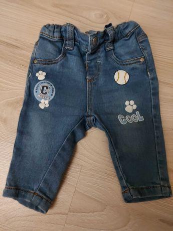 Spodenki jeansowe elastyczne rozm. 62