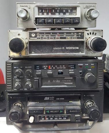 Auto Radios vintage para carros classicos