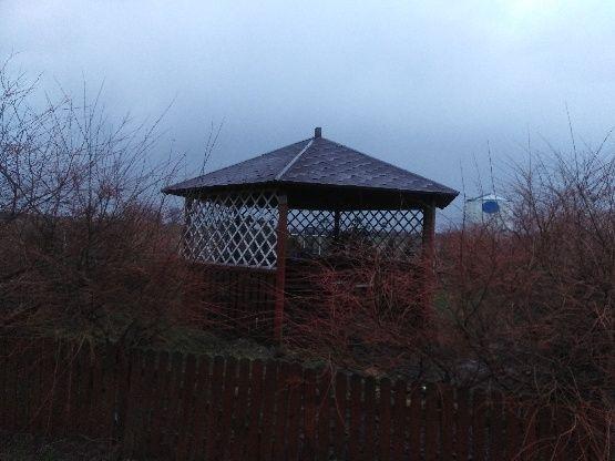altana ogrodowa z drewna