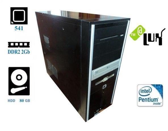Компьютер(системный блок) Pentium 541-(2x3.2GHz)/DDR2-4Gb/HDD-80Gb