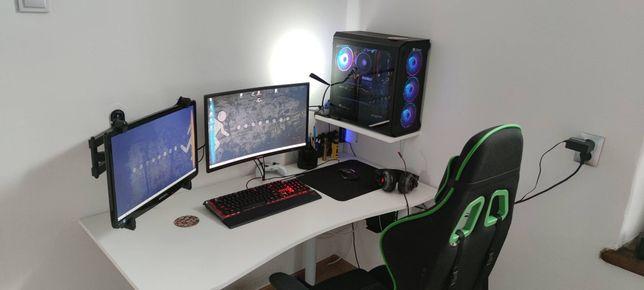 Komputer Gamingowy ryzen5 , xfx rx580, 32GB RAM, SSD, Monitor 144hz