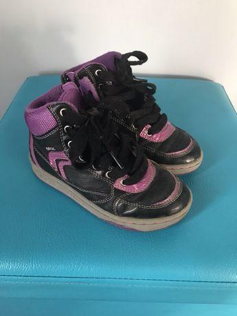 Buty sneakersy Geox półbuty botki