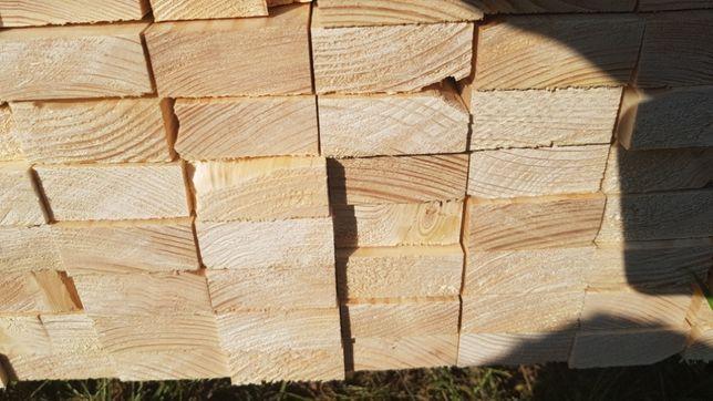 Drewno konstrukcyjne , łaty 25x50 mm c24