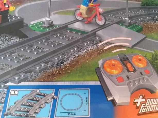 Конструктор city железная дорога, б-у