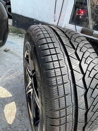 Продам разноширокие колеса шины зима Michelin Alpin 4 на R18 диски