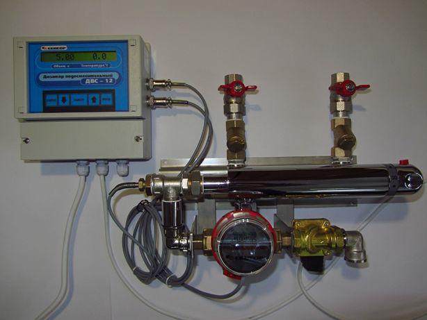 Дозатор воды смеситель ДВС-12 для пекарен, теста.