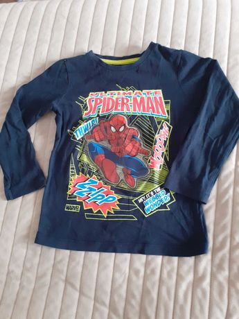 Bluzka chłopięca Marvel Spidermen r.116 C&A